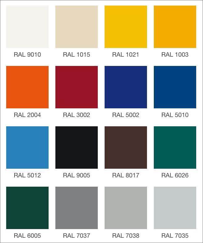 colori disponibili